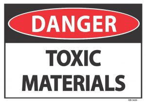 danger toxic materials