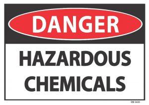 danger hazardous chemicals