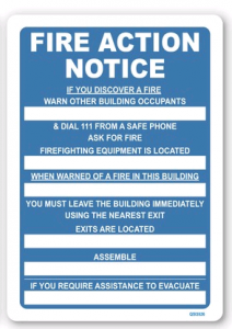 Fire Action When Warned