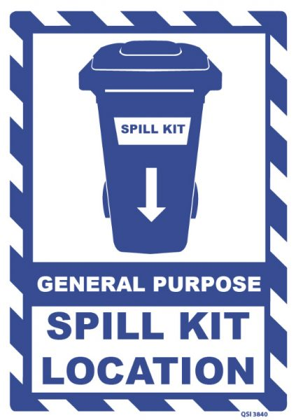 General Purpose Spill Kit Location