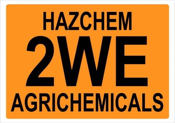 Hazchem 2WE Agrichemicals
