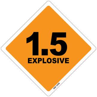 1.5 Explosive 250mm x 250mm