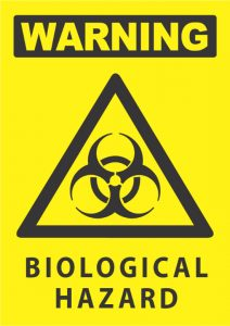 warning biological hazard