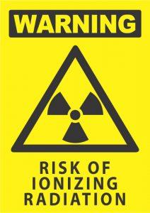warning risk of ionizing radiation
