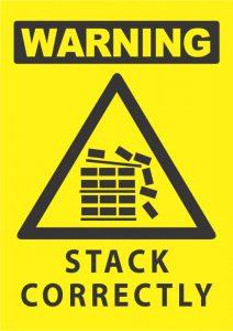 warning stack correctly