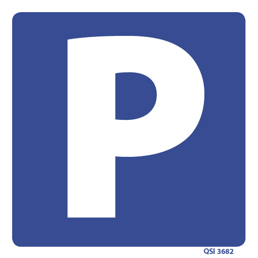 Parking Sign 240mm x 240mm