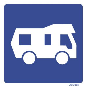 Camper Van Sign 240mm x 240mm