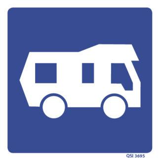Camper Van Sign 240mm x 240mm