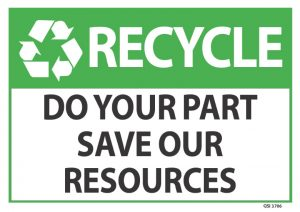 Recycle Do Your Part Save Our Resources