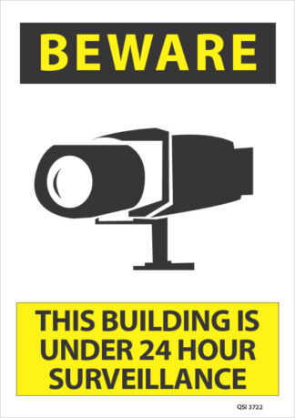 Beware Building Under 24 Hour Surveillance