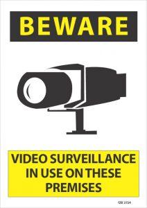 Beware Video Surveillance On These Premises