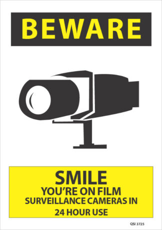 Beware Smile You Are On Film Surveillance Cameras