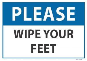 Please Wipe Your Feet