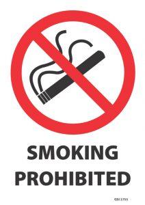 Smoking Prohibited