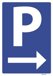 Parking Right Arrow
