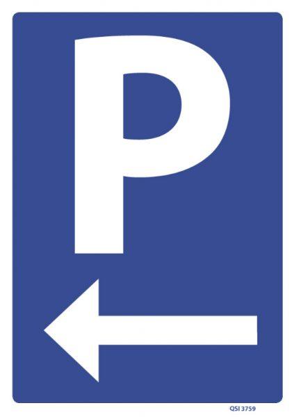 Parking Left Arrow