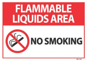 Flammable Liquids Area