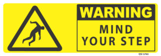 warning mind your step