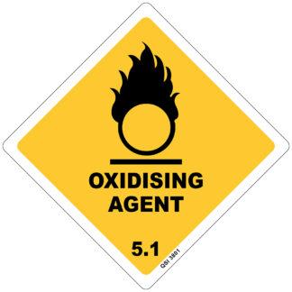 Oxidising Agent 5.1 250mm x 250mm