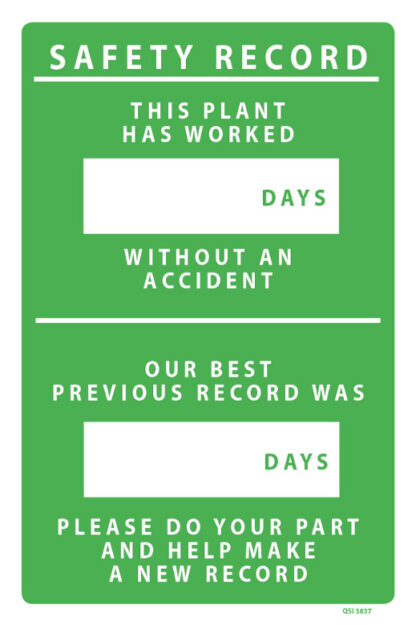 Safety Record Plant