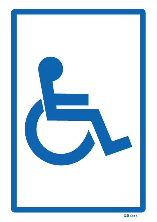 Disabled Parking Only Sign - Create Signs