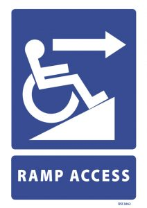Ramp Access Right Arrow
