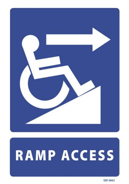 Ramp Access Right Arrow