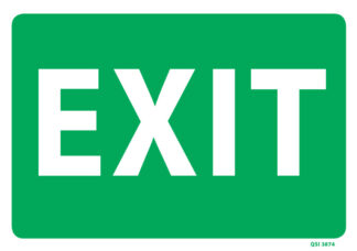 Large Exit Sign