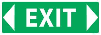 Exit Sign Arrow Both Ways