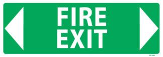 Fire Exit Arrow Both Ways