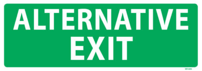 Alternative Exit