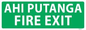 Ahi Putanga Fire Exit