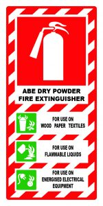 ABE dry powder fire extinguisher