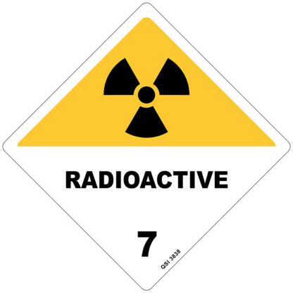 Radioactive 250mm x 250mm