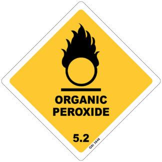 Organic Peroxide 250mm x 250mm