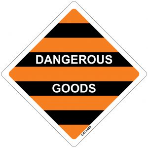 Dangerous Goods 250mm x 250mm