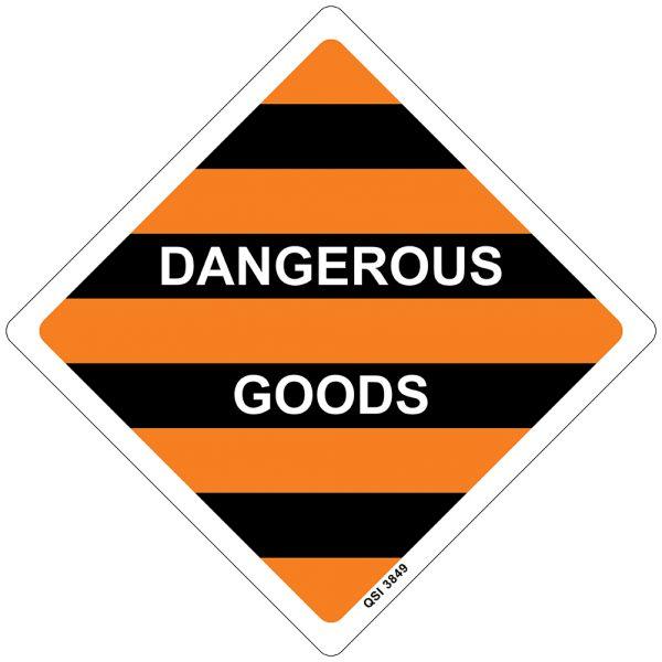 Dangerous Goods 250mm x 250mm