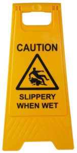 slippery when wet a frame