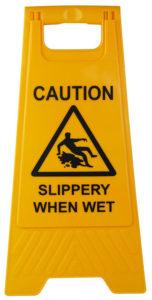 slippery when wet a frame